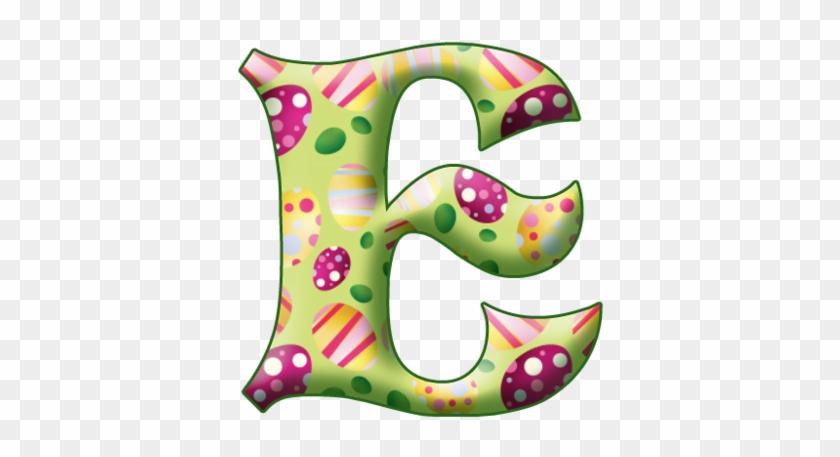Easter Alphabet Letters #1128997