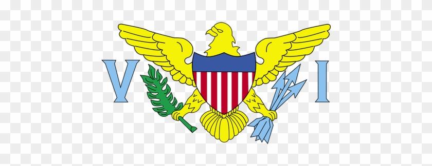 3287 American Flag Clip Art Borders Free Public Domain - Flag Of The United States Virgin Islands #1129509