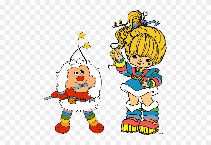 A Halloween Story Pinksuedeshoe - Rainbow Brite And Twinkle #1129801