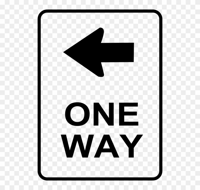 Symbol Clipart Street One Way Street Sign Free Transparent Png