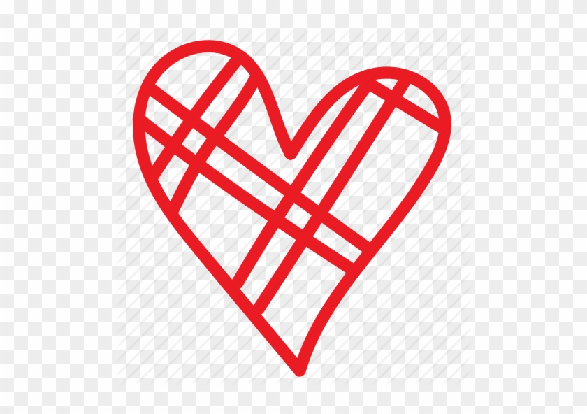 Drawn Heart Doodle Drawing Free Transparent Png Clipart Images