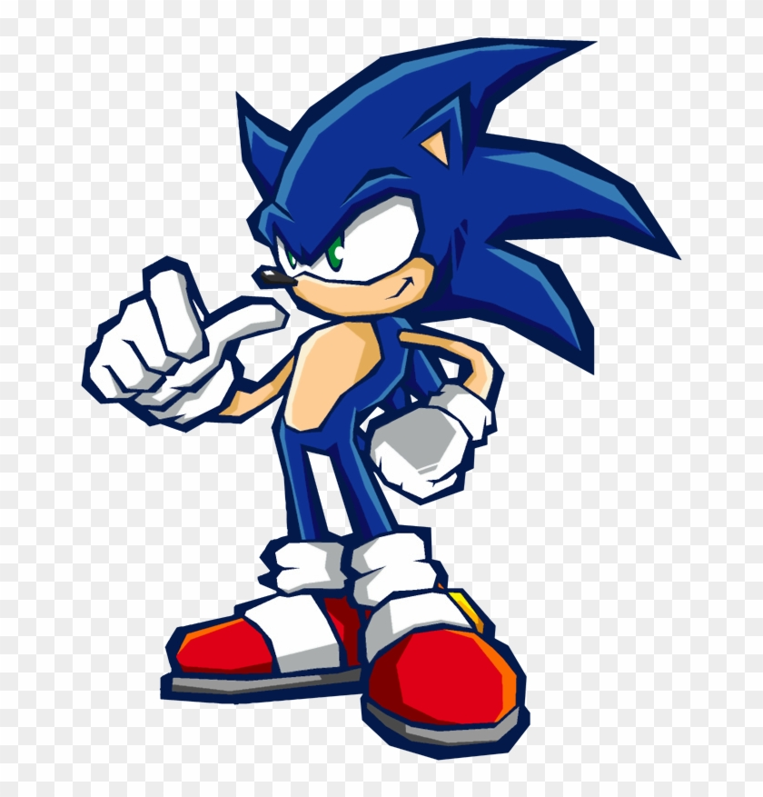 Sonic Signature Art Thumbs Up Sonic The Hedgehog Characters Free Transparent Png Clipart Images Download