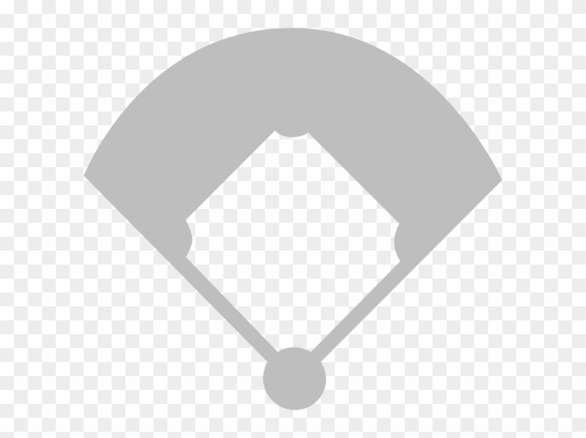 Baseball Field Clip Art - Baseball Diamond Vector Art #1131143