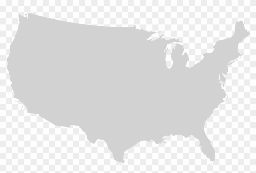 Png Usa Outline File Blank Us Map Mainland With No United States
