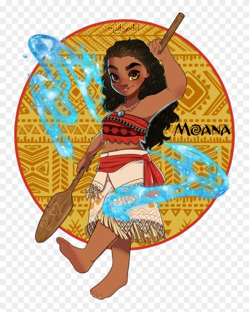 Moana By Maikyodel - Transparent Moana Clipart Png - Free