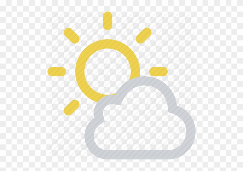 Cloud Partly Cloudy Sun Free Image On Pixabay - Sunny Cloudy Weather Icon #1131725