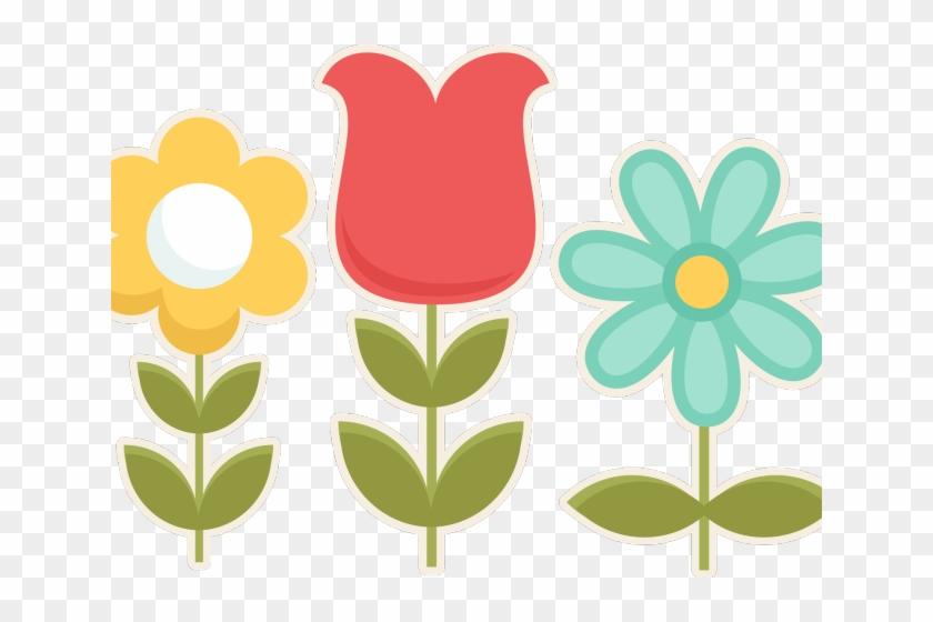 Easter Flower Clipart - Arvores Do Jardim Encantado Minus #1131828