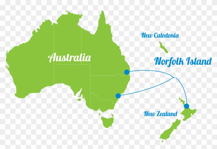 Australia Map Png.Map Of Australia New Zealand And Norfolk Island Australian Map