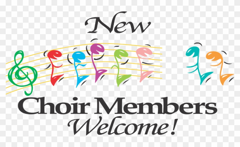 Pin Youth Choir Clip Art - New Choir Members Welcome #1132476