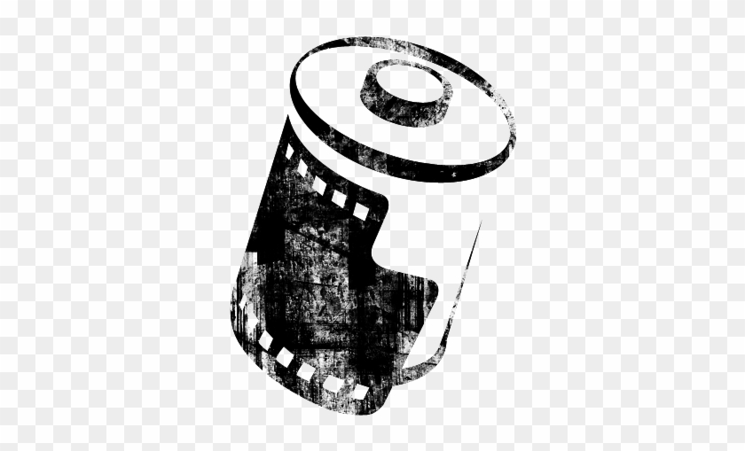 Pin Film Roll Clipart - Roll Of Film Icon #1133454