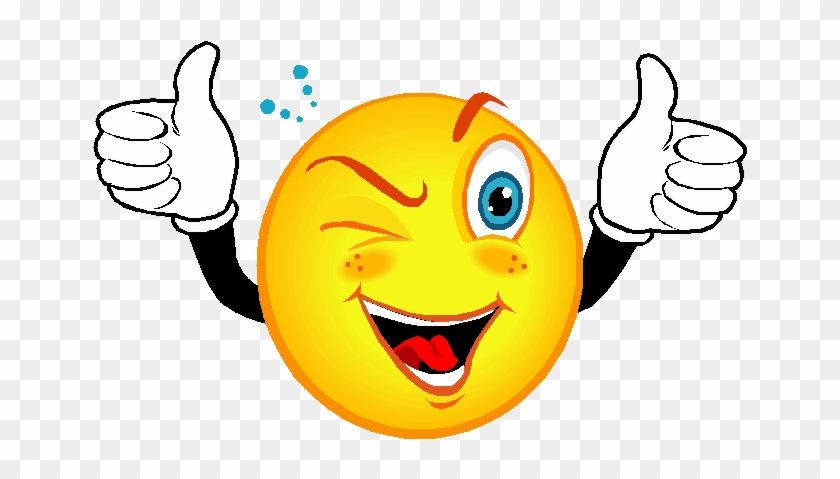 Free Clip Art Great Job 3544040 Billigakontaktlinser - Smiley Face With Thumbs Up #1133481
