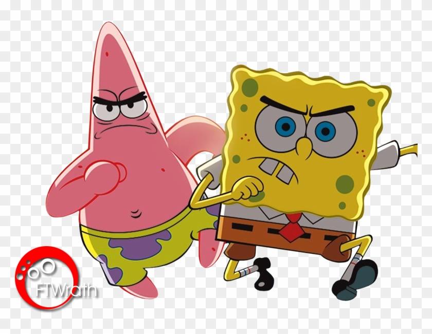257 2574074 spongebob squarepants %C2%ABdigital renders %C2%ABdigital wallpapers spongebob and patrick angry