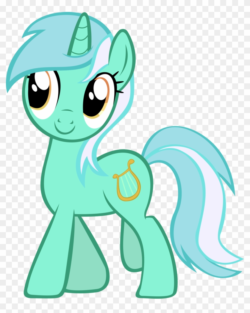 My Little Pony Lyra Vector - My Little Pony Lyra Heartstrings #1133756