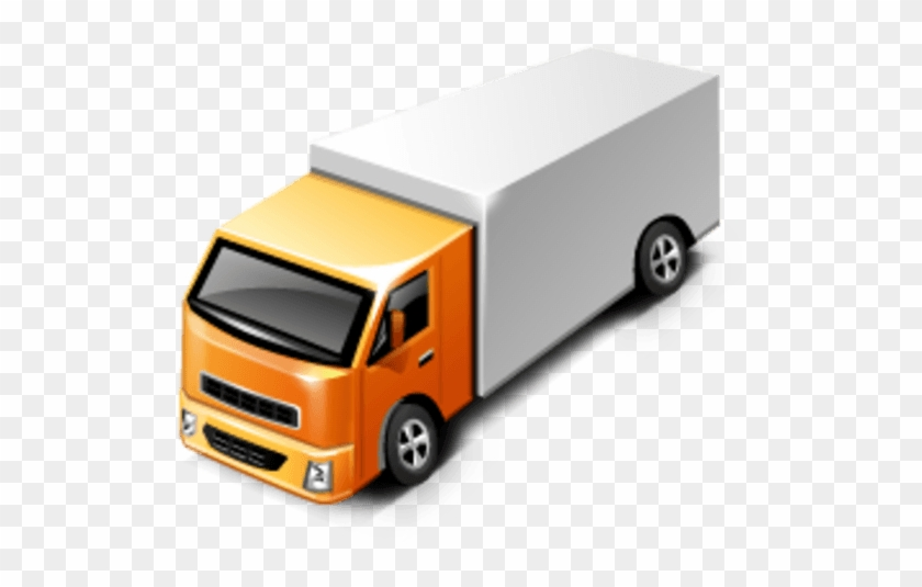Delivery Truck Clipart Png - Delivery Truck Icon 3d #1133989