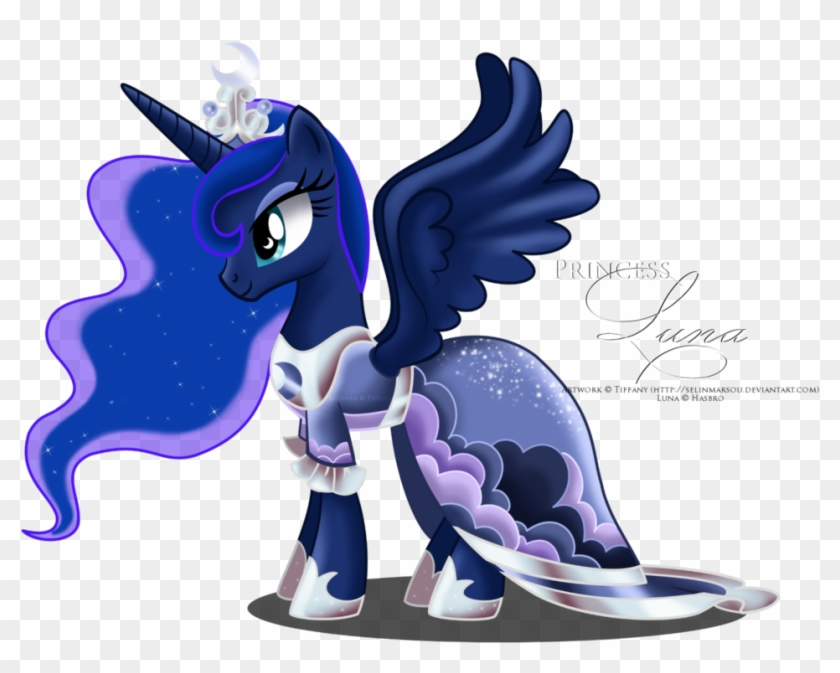 My Little Pony Princess Luna Dress Mlp Luna Con Vestido Free Transparent Png Clipart Images Download