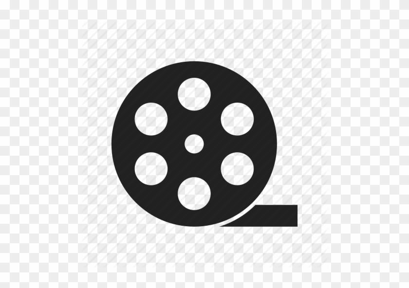 Entertainment, Film Reel, Film Roll, Movie, Theate - Film Reel Icon Png #1135411