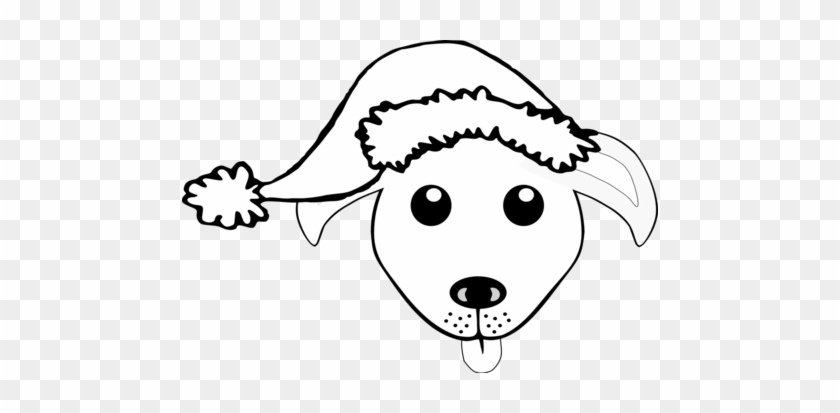 girl coloring clip art book dog inkscape line public believe in santa paws mousepad