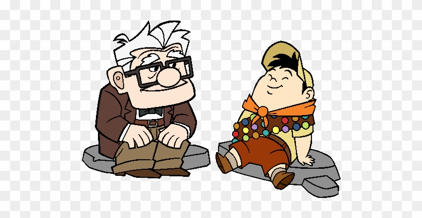 carl and russell clip art movie up clip art free transparent png