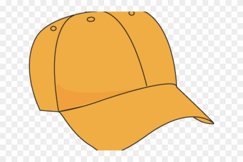 Baseball Cap Clipart Color Orange - Transparent Background Hat Clipart #1136916