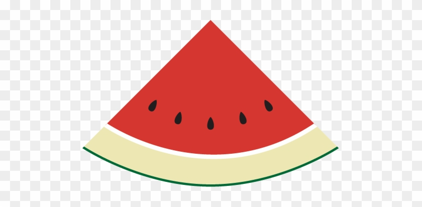 Merely An Inacurrate Visual Depiction, Watch A Video - Watermelon Slice Clip Art #1136963