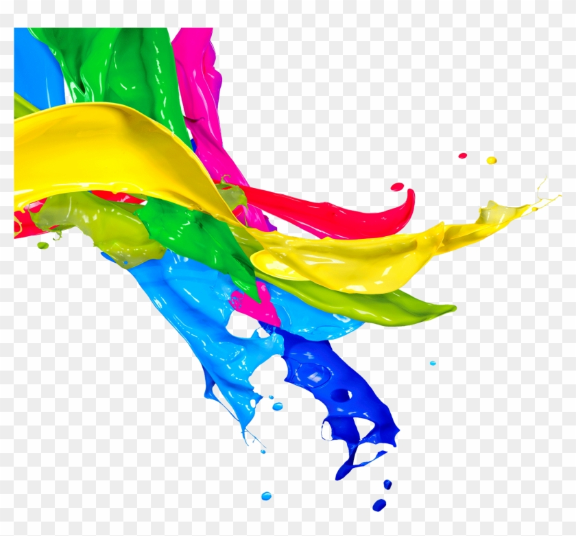 Painting Clipart Transparent Background - Colorful Splash #1137047