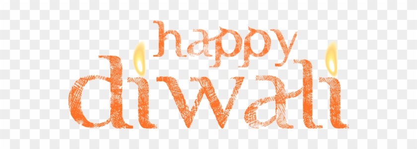 Discover Ideas About Happy Diwali - Happy Diwali Text Png #1137584