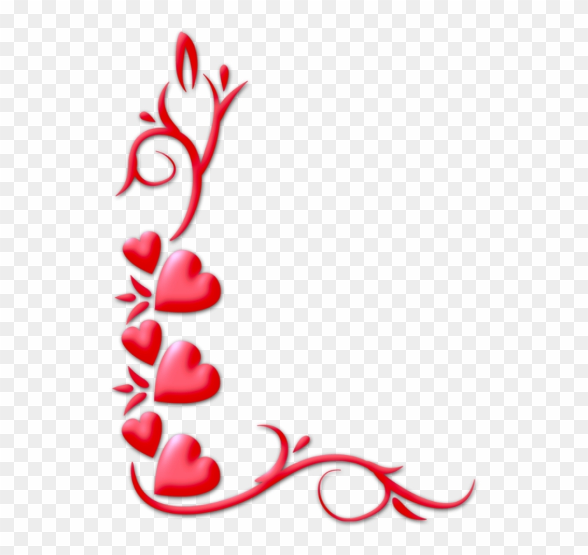 Free Valentines Day Border Png Love Border Design Png Free