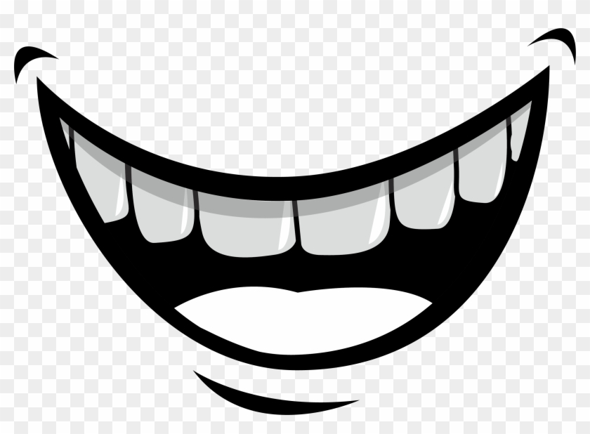 Mouth Lip Tooth Illustration - Smile Mouth Cartoon #1137771