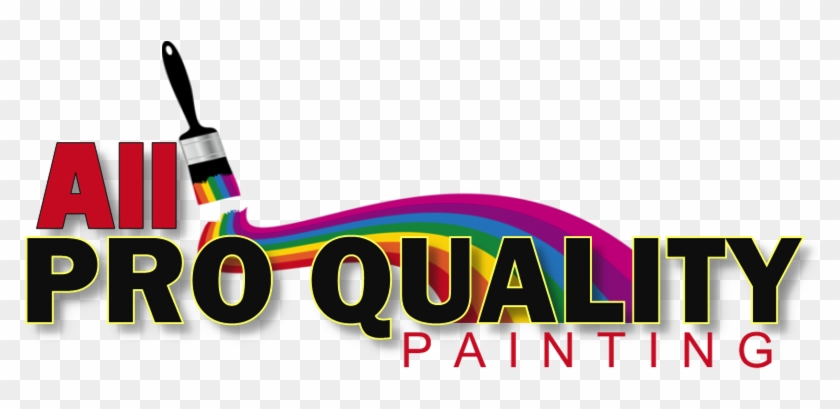 While Painting Interiors All Pro Quality Painting Is Logo Free - All pro painting