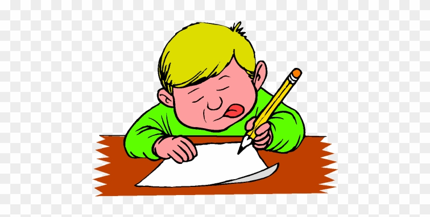 Writing A Letter Cartoon Free Transparent Png Clipart Images Download