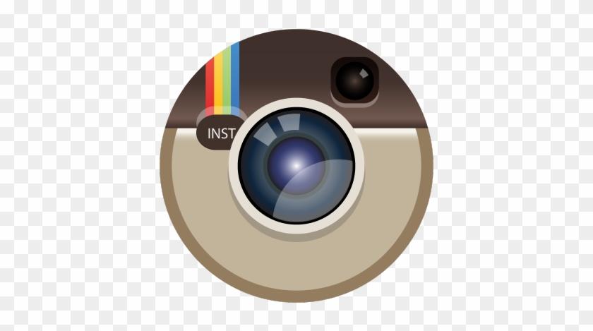 2015 Calendar Icon Stock Illustration Instagram Logo Round