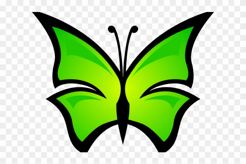 Insect Clipart Abstract - Butterflies Free Download Svg #1140106