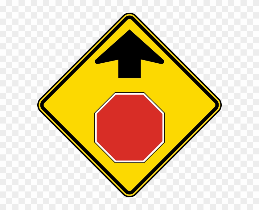 Make Sure That Your Gasoline Tank Is Full Before You - Stop Sign With Arrow #1140321