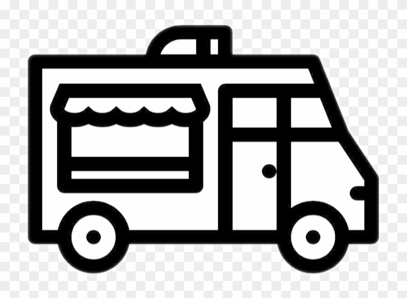 Mobile Kitchens - Food Truck Icon .png #1140595