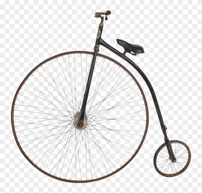 Person riding a penny farthing clipart. Free download transparent .PNG |  Creazilla
