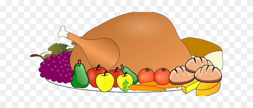 Eat A Wide Variety Of Foods For A Healthy Diet - Thanksgiving Clip Art Free #1141637