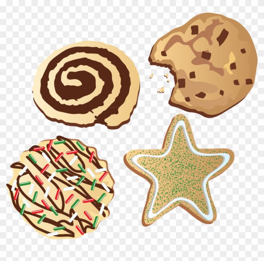 Rice Krispies Treats Dim Sum Food Cookie Christmas - Christmas Cookies Clip Art #1141653