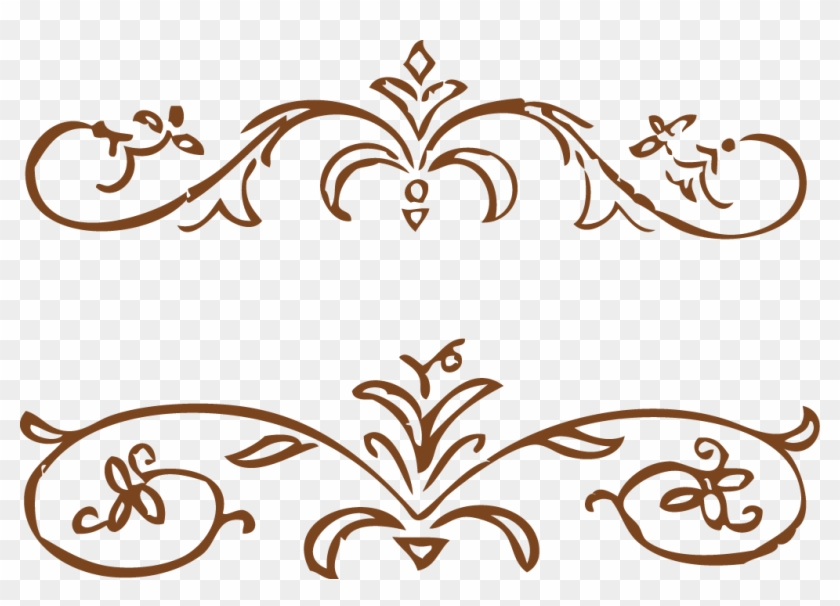 Wire Frame Model Clip Art Vector Creative Design Edging - Floral Frame Vector Png #1142365