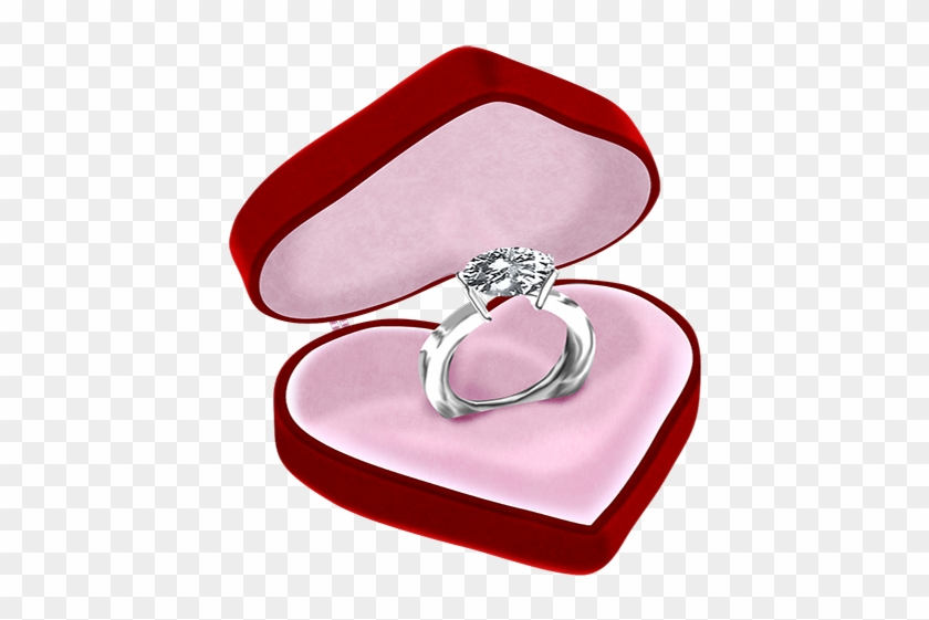 Engagement Ring Diamond Jewellery Clip Art Wedding In Box Png 1142423