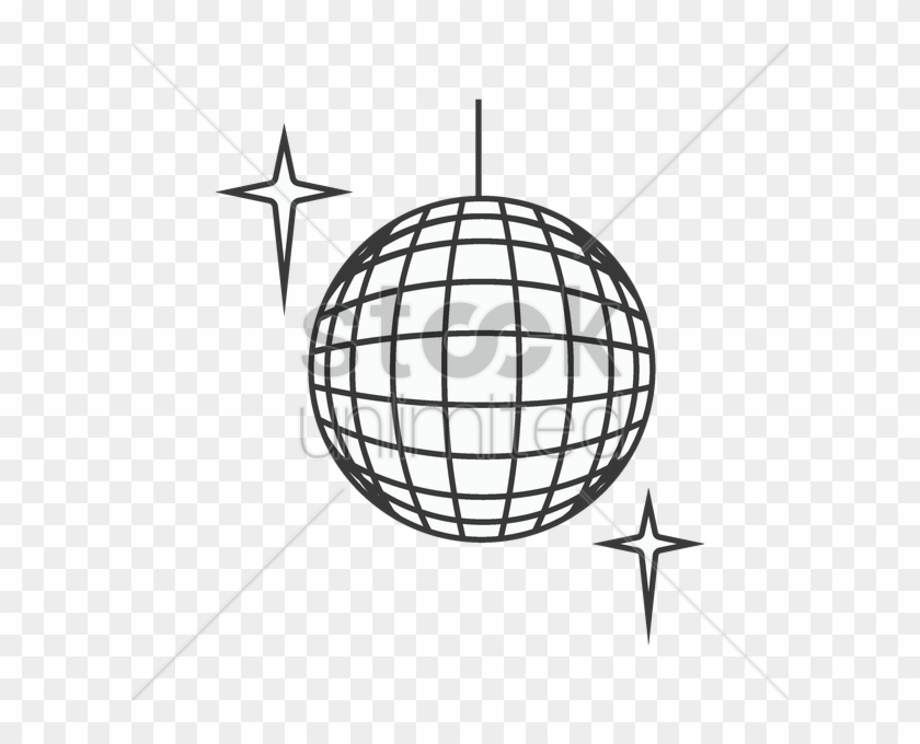 Disco Ball Drawing At Getdrawings Com Free For Personal - Simple Disco Ball Drawing #1142907