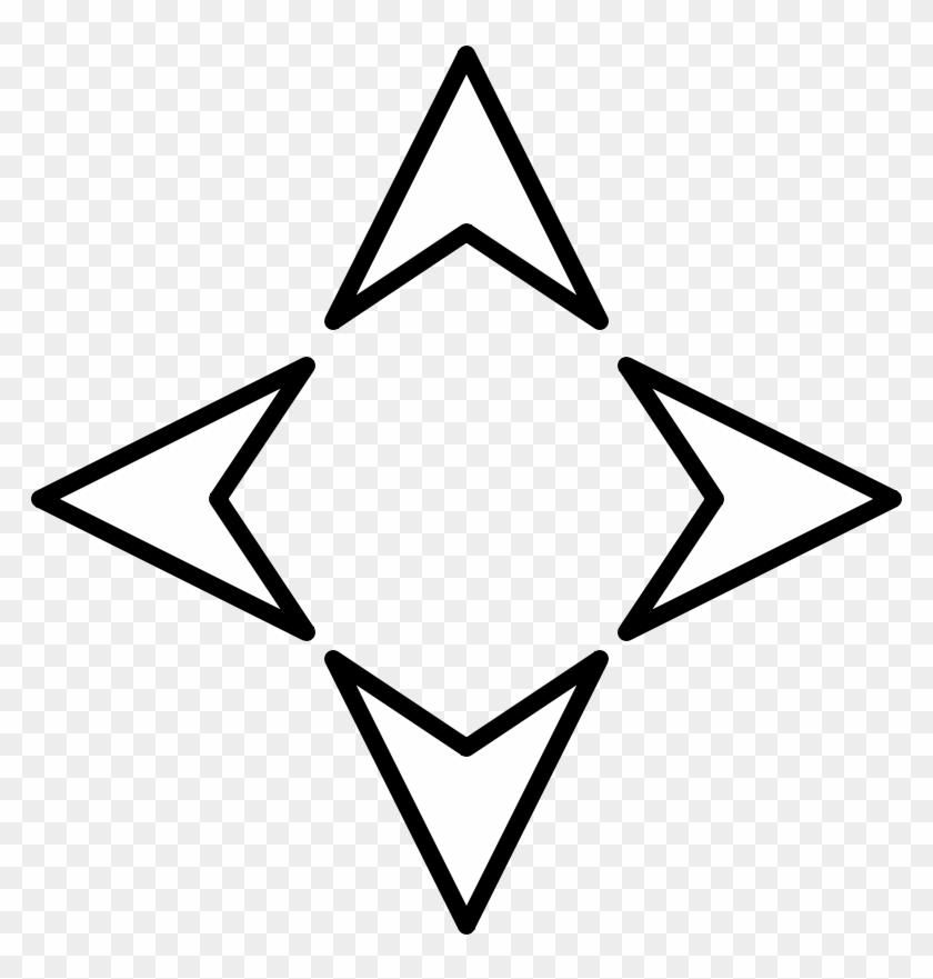 4 Direction Arrow #1143285