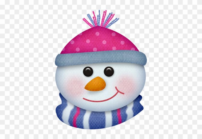 Arana Альбом «scrap Kits / Scrap Kits 13 / Sk Winter - Snowman Face Png #1143491