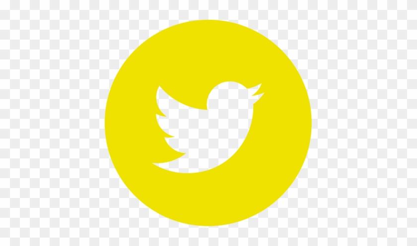 Follow Us - Logo De Twitter En Rojo #1143525