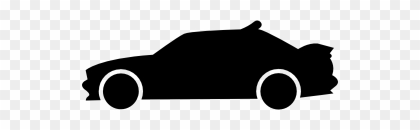 Racing Car Side View Silhouette Free Icon Car Free Vector