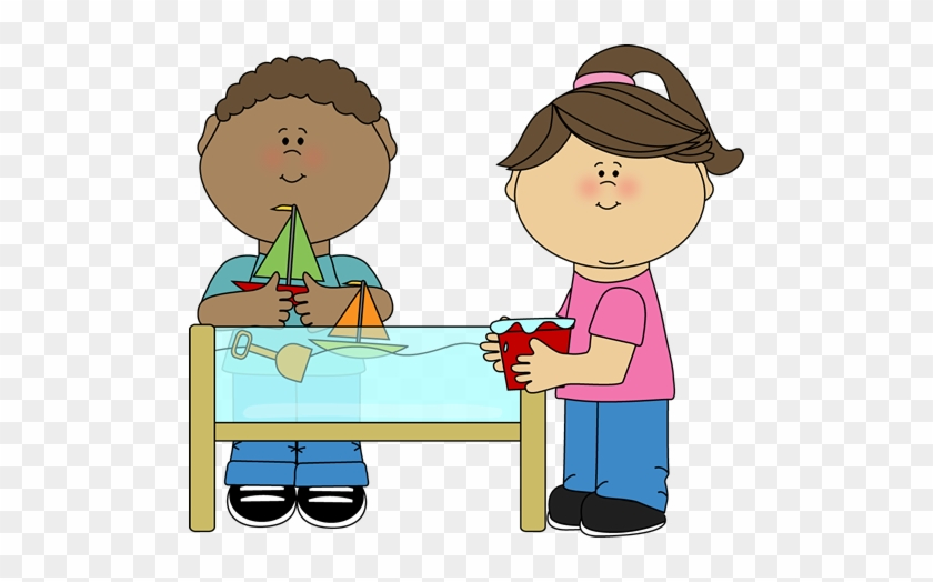East Elementary School - Water Table Clipart #189808