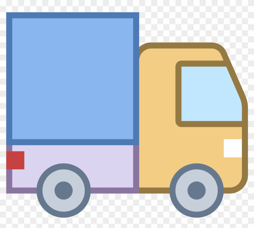 Small Truck Color Icon Png Clipart - Microsoft Word #189872