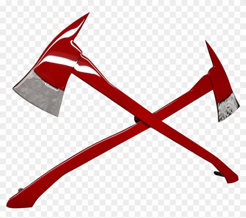 Nine Line Apparel - Fire Axes - Free Transparent PNG Clipart Images