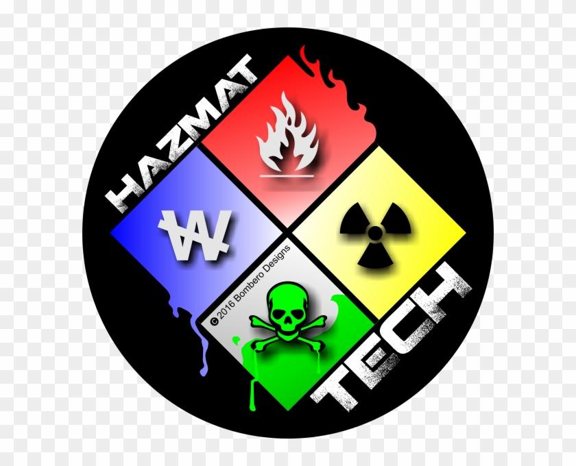Hazmat Tech Sticker - Firefighter #189990