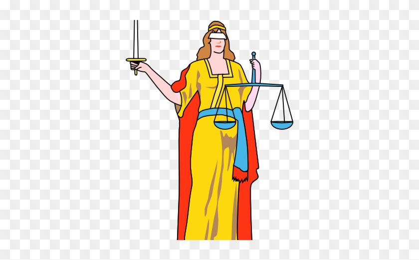Who Will Stand With Lady Justice - New York State Flag #190092