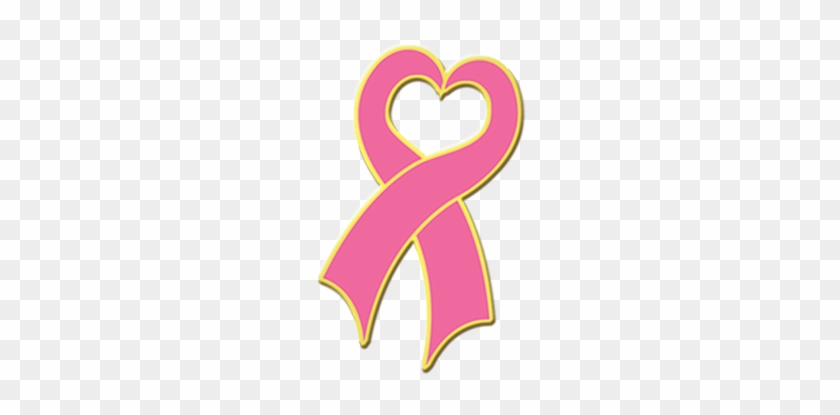 J280 - Heart Cancer Ribbon Png #190297